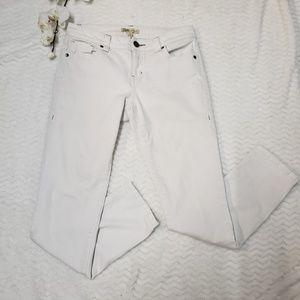 Cabi Bree Skinny Jeans, white size 4